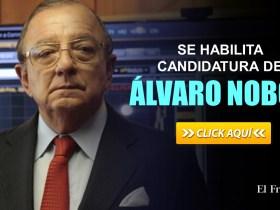 Se habilita la candidatura de Álvaro Noboa