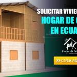 Solicitar Vivienda Social Hogar de Cristo en Ecuador