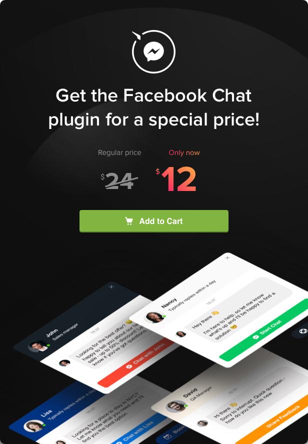 Facebook Chat - WordPress Facebook Chat plugin - 5