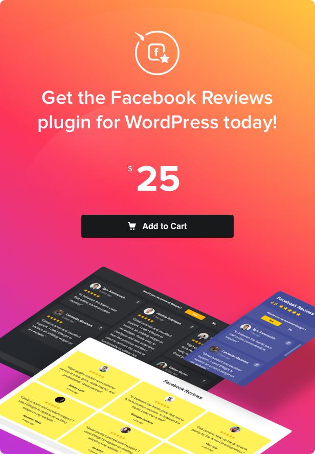 Facebook Reviews - WordPress Facebook Reviews plugin - 4