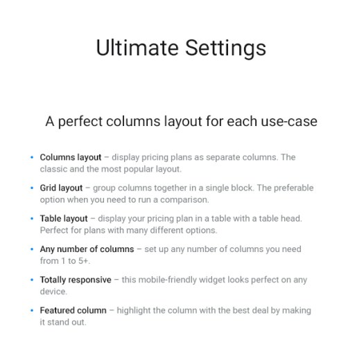WordPress Pricing Table Plugin - 3
