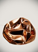 Tom Dixon/ Crushed Copper Shade/ picture by Tom Mannion