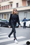 in Milan via Styledumonde