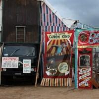 'Brunette Bross Circus' acampara en Araia durante todo el festival.