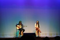 Dana Jaco and Dallas Dixon perform Somebody That I Used to Know.