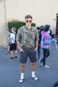 Senior Ben Noymer shows his whacky style.