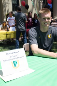 Dylan Belquist will be attending the University of San Francisco to play basketball.