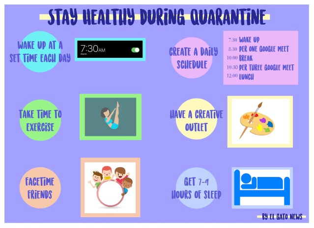 stay healthy during quarantine