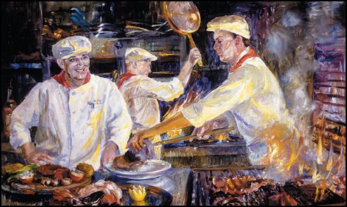 Paintings  El Gaucho