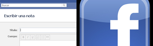 texto enriquecido para las notas en Facebook Se confirma el texto enriquecido para las notas en Facebook