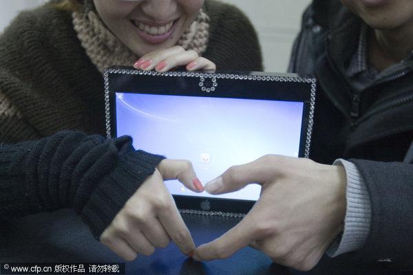 estudiante construye tablet para su novia Estudiante chino construye tablet casero para su novia por solo $125