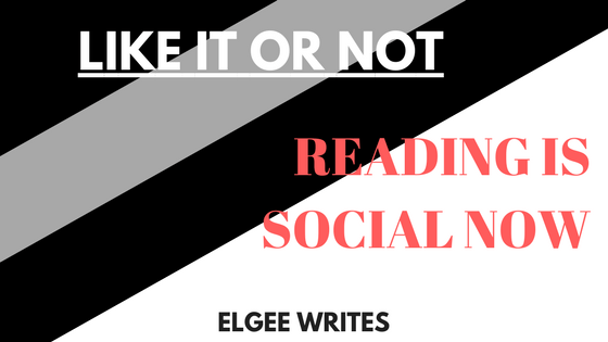 READING IS SOCIAL NOW