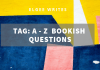 A-Z bookish questions Cover
