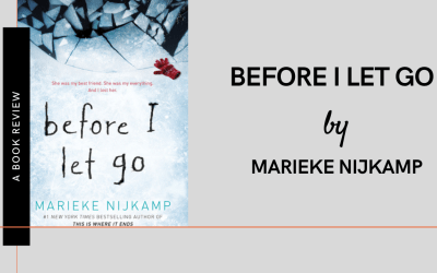 Before I let go by Marieke Nijkamp: A Book review