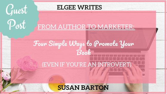 Author to Marketer Susan