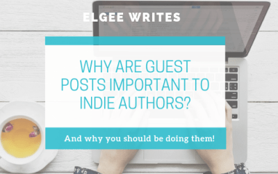 Why are guest posts important to indie authors?