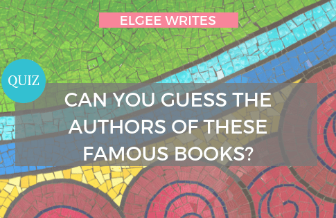 Books Authors Quiz