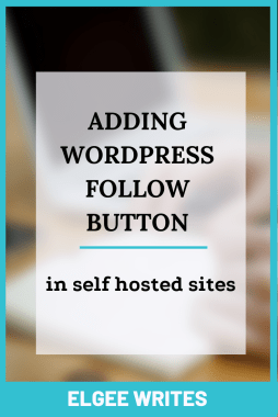 Adding a WordPress follow button on your self hosted websites Pinterest