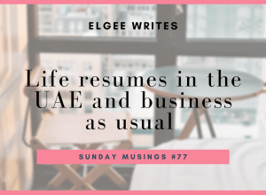 Resumes in the UAE cover