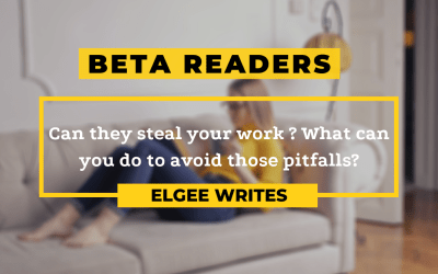 Can beta readers steal your work?