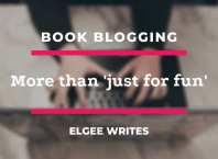 Book blogging is more than 'just for fun' Feature