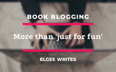Book blogging is more than 'just for fun'