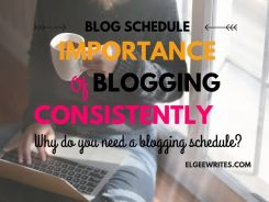 Blogging consistently blog schedule Cover