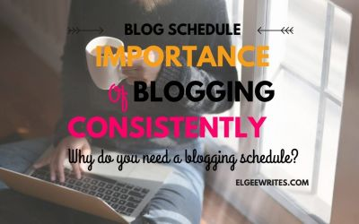 Importance of blogging consistently: Do you need a blog schedule?