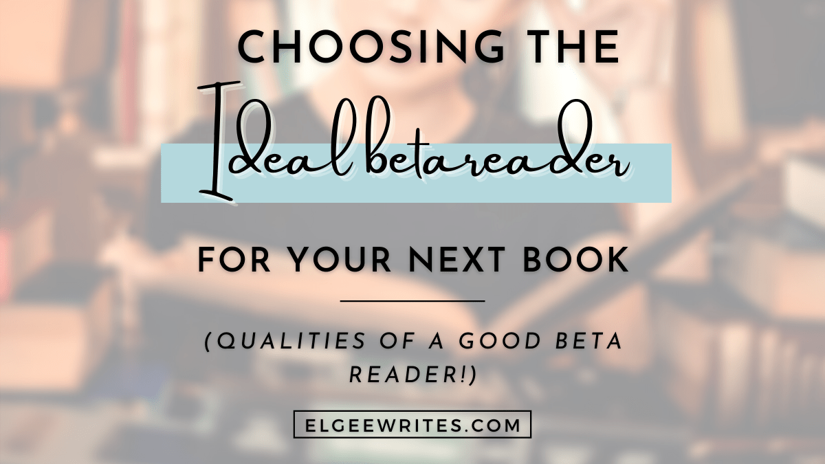 Choose the ideal beta reader Cover