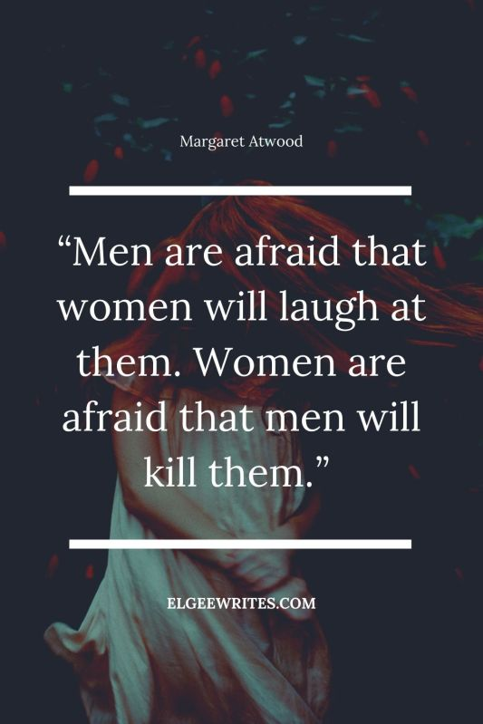 Atwood quotes about women power