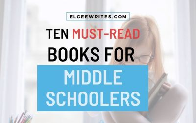 Ten must-read books for middle schoolers
