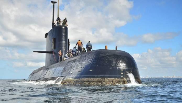 Aparecen los restos del submarino ARA de San Juan