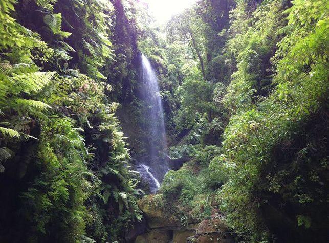 Muere un senderista tras precipitarse y caer  desde una gran altura por la cascada de Tilos