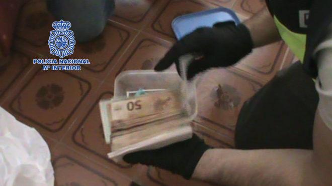 Desarticulación de 650 kilos de cocaína de una banda de narcotraficantes en Galicia
