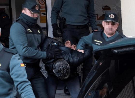 Bernardo Montoya, un mar de insultos en su traslado al juzgado