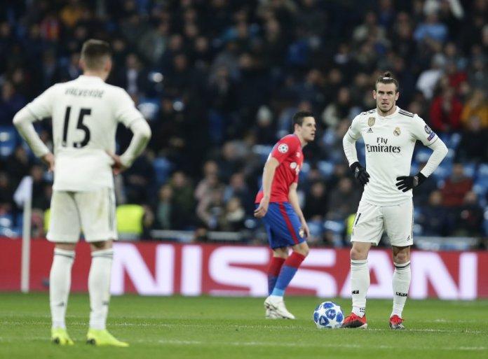 Estrépito en el Santiago Bernabéu