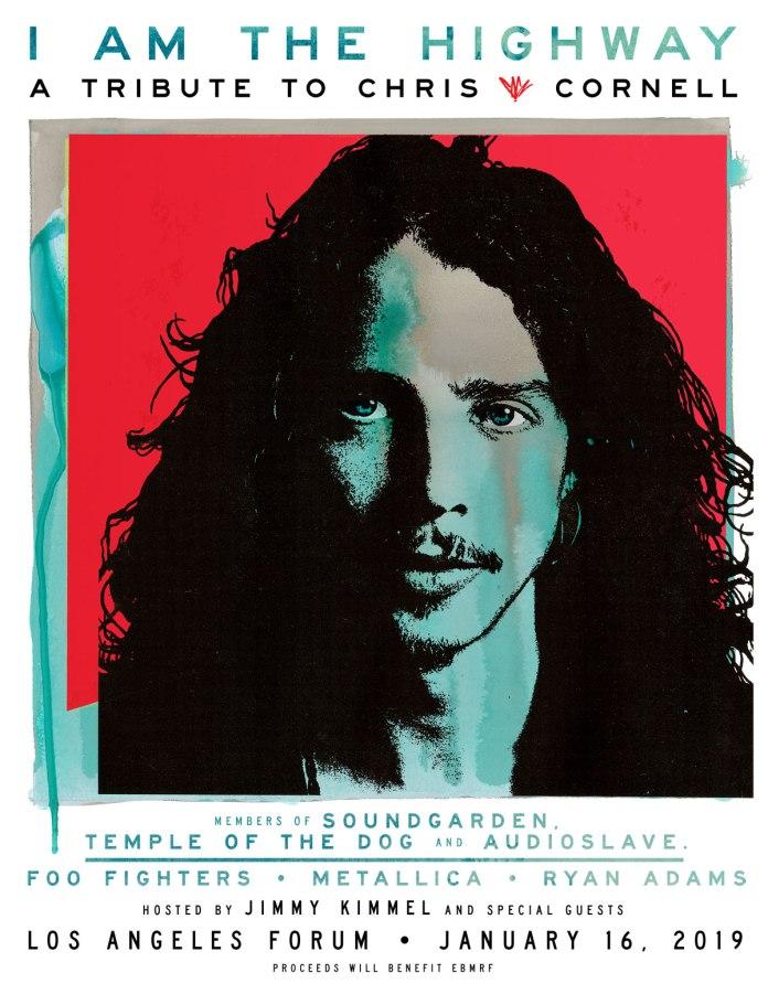 El homenaje a Chris Cornell congrega a artistas como Metallica, Foo Fighters o Miley Cyrus
