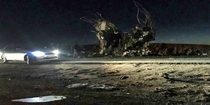 Atentado suicida en el sureste de Irán