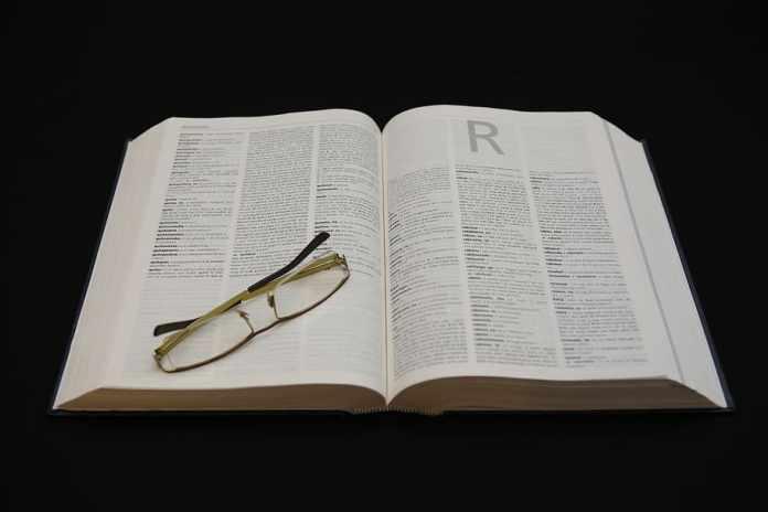 Once letras en el diccionario