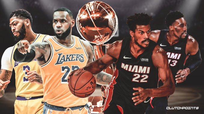 Los Ángeles Lakers y Miami Heat se citan en una final para la historia