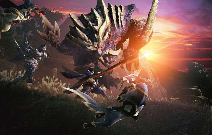 La caza se eleva a los cielos en 'Monster Hunter Rise'