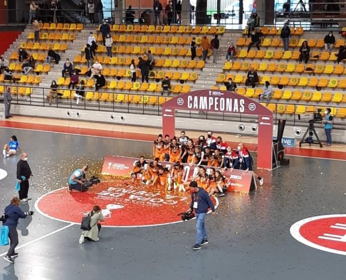 Burela, campeón de la Copa de la Reina de Fútbol Sala