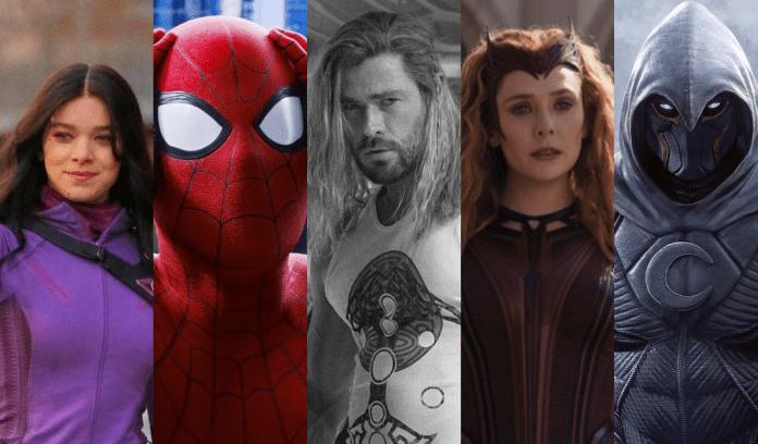 La fase 4 de Marvel Studios al completo