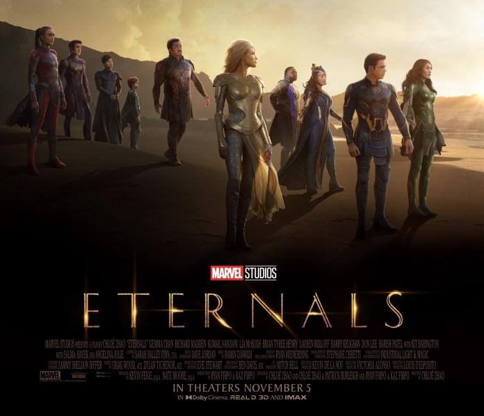 Nuevo tráiler de 'Eternals', el glorioso nuevo equipo de Marvel Studios