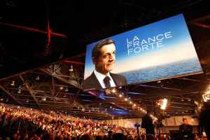 Meeting Campaña electoral de Nicolas Sarkozy, en Marseilla, le 19 de febrero de 2012. | Fuente : PATRICK AVENTURIER / GETTY IMAGES VIA AFP