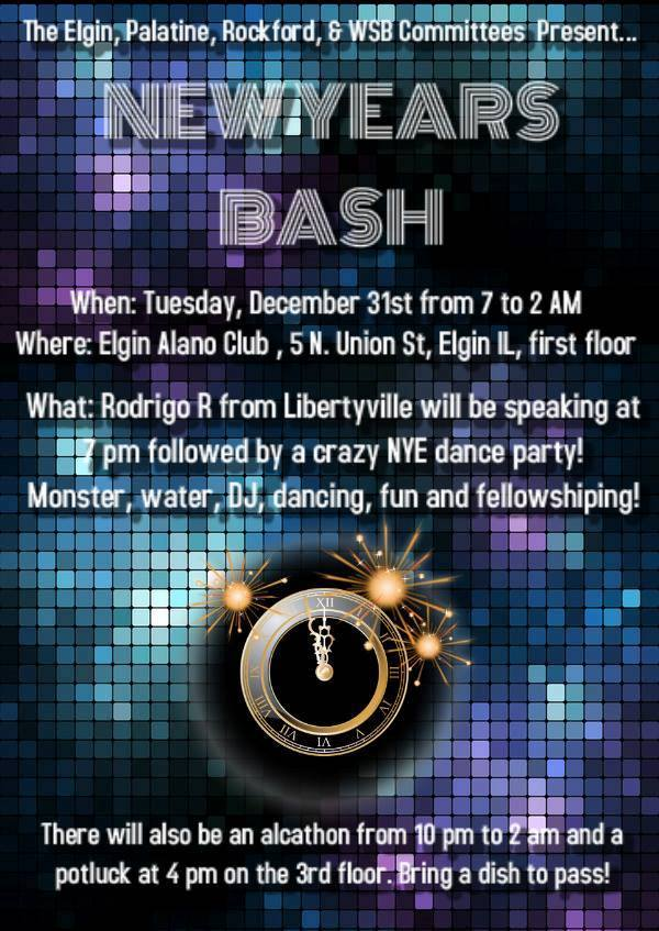 New Years Eve Mega Bash!!!  1