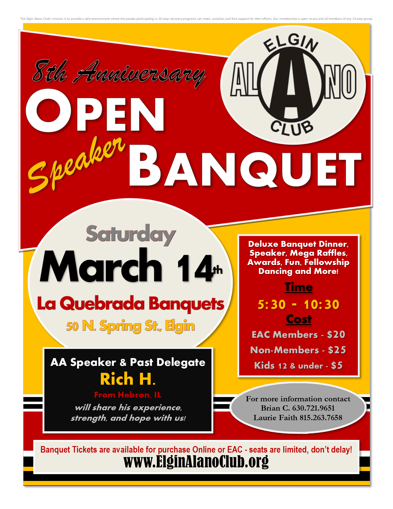EAC's Annual Open Speaker Banquet 1