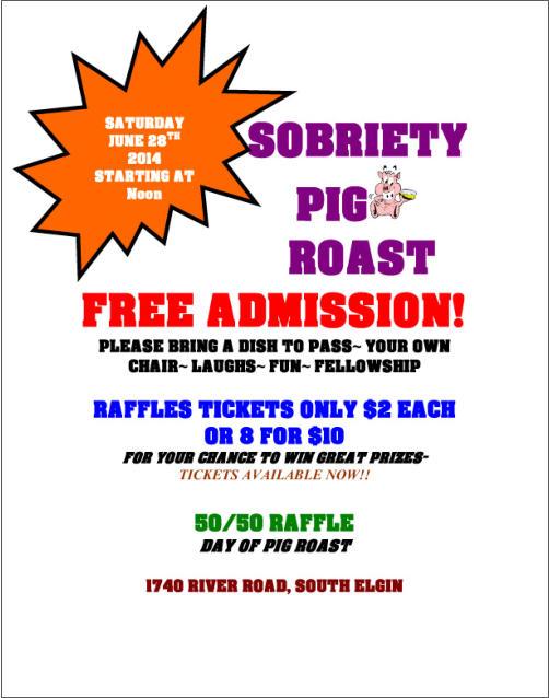 EDI Club: Sobriety Pig Roast 1