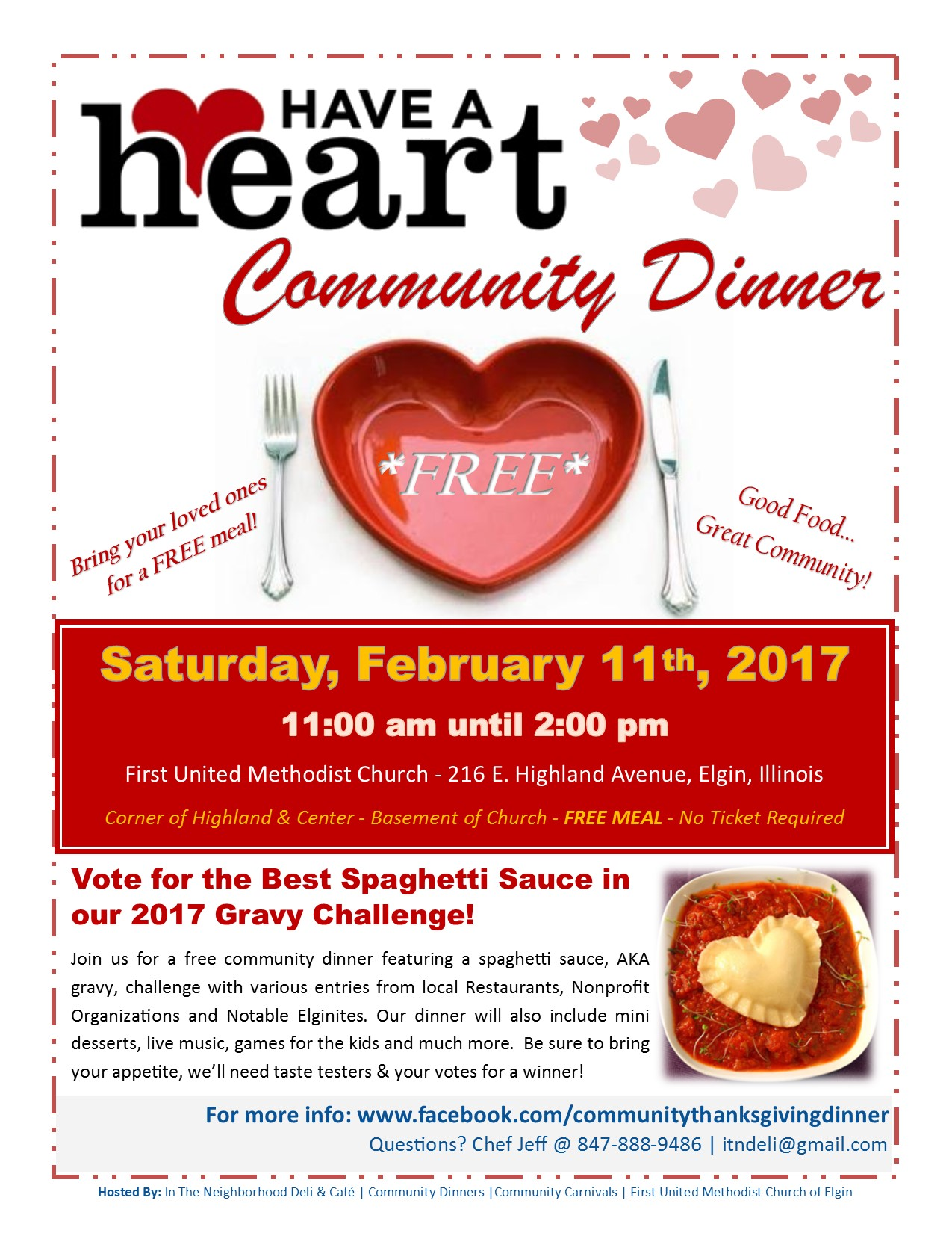 """Have a Heart"" Community Dinner 1"