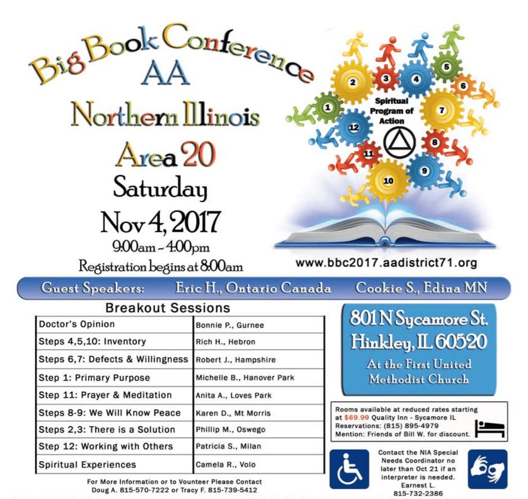 2017 NIA Big Book Conference 1